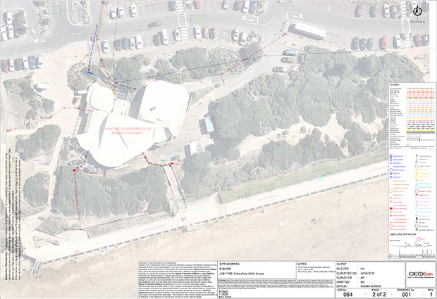 GeoScan-Site survey and drafting